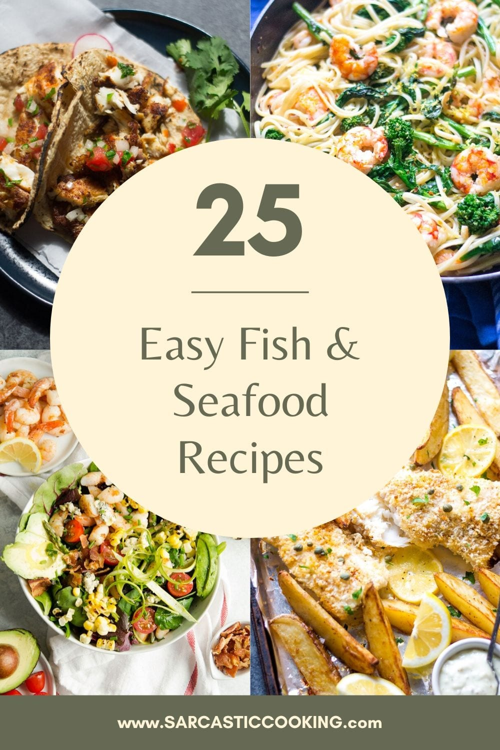 25 Easy Best Fish & Seafood Recipes | Sarcastic Cooking