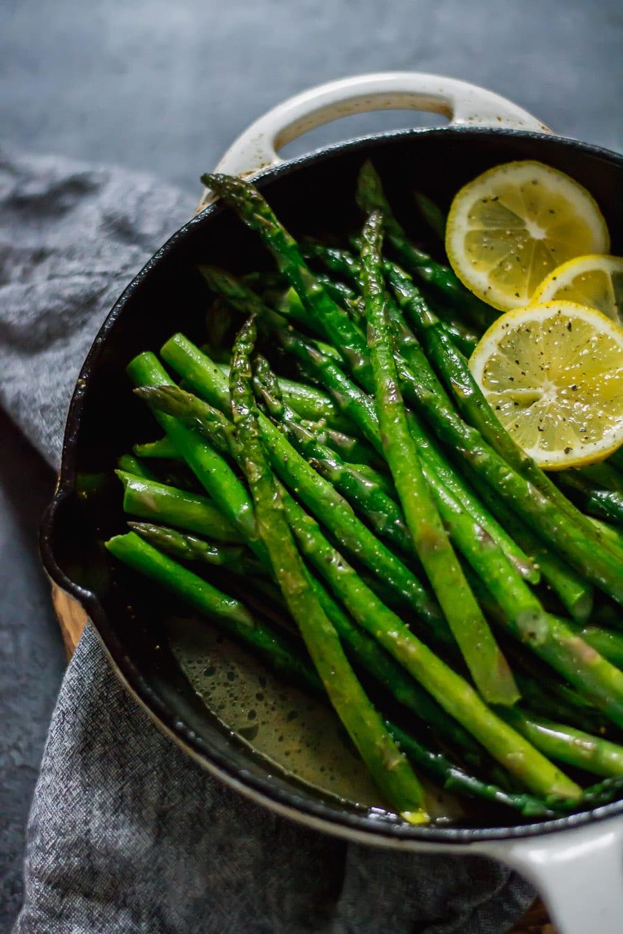 Brown Butter Asparagus