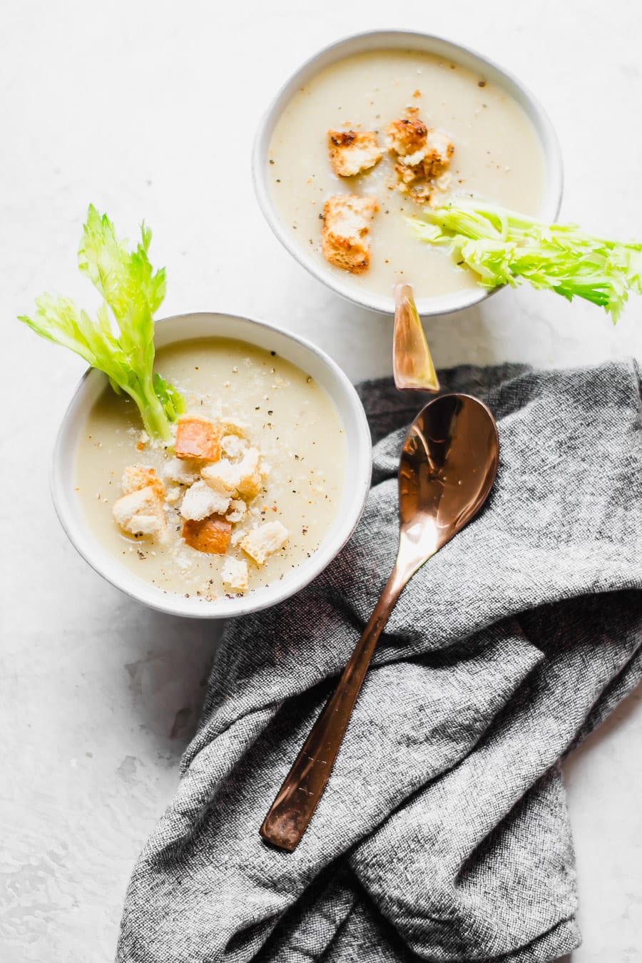 Easy Slow Cooker Celery and Potato Soup   Sarcastic Cooking