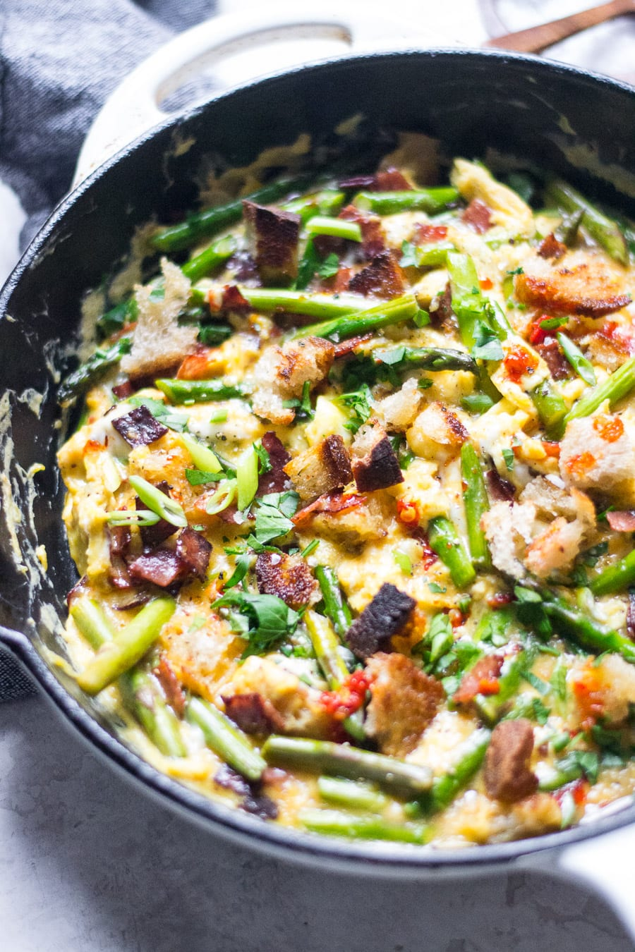 asparagus revuelto | sarcastic cooking