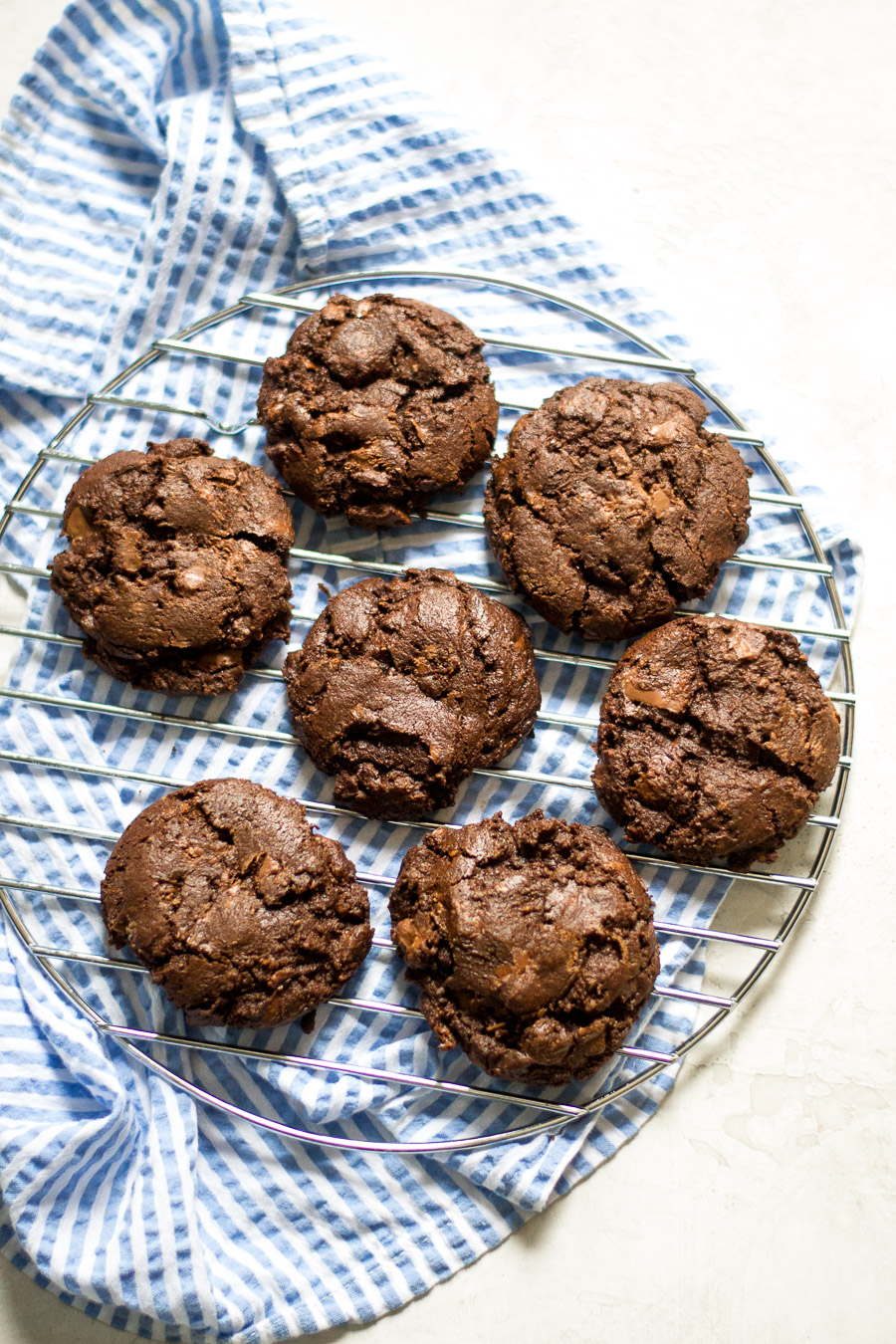 Double Chocolate Chocolate Chip Cookies | Sarcastic Cooking