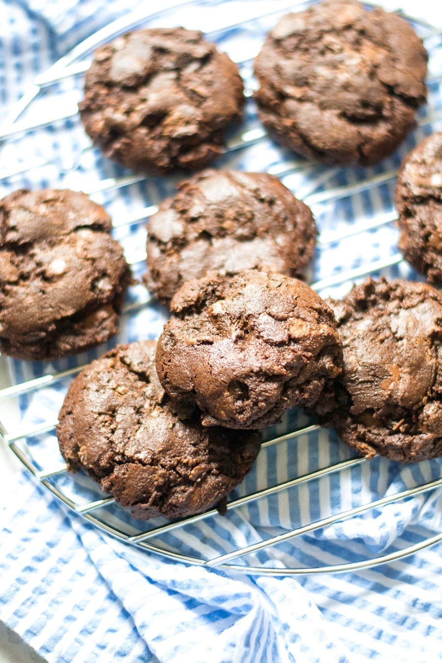 Double Chocolate Chip Cookies | Sarcastic Cooking