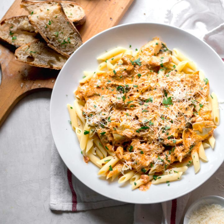 Penne with Vodka Sauce | Sarcastic Cooking