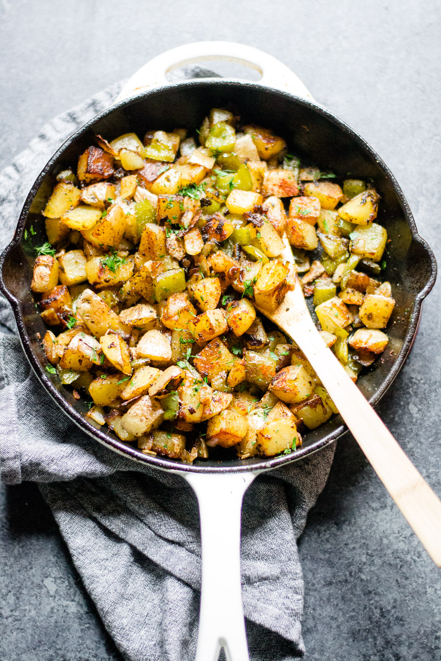 Hash with Bell Peppers and Onions | sarcastic Cooking