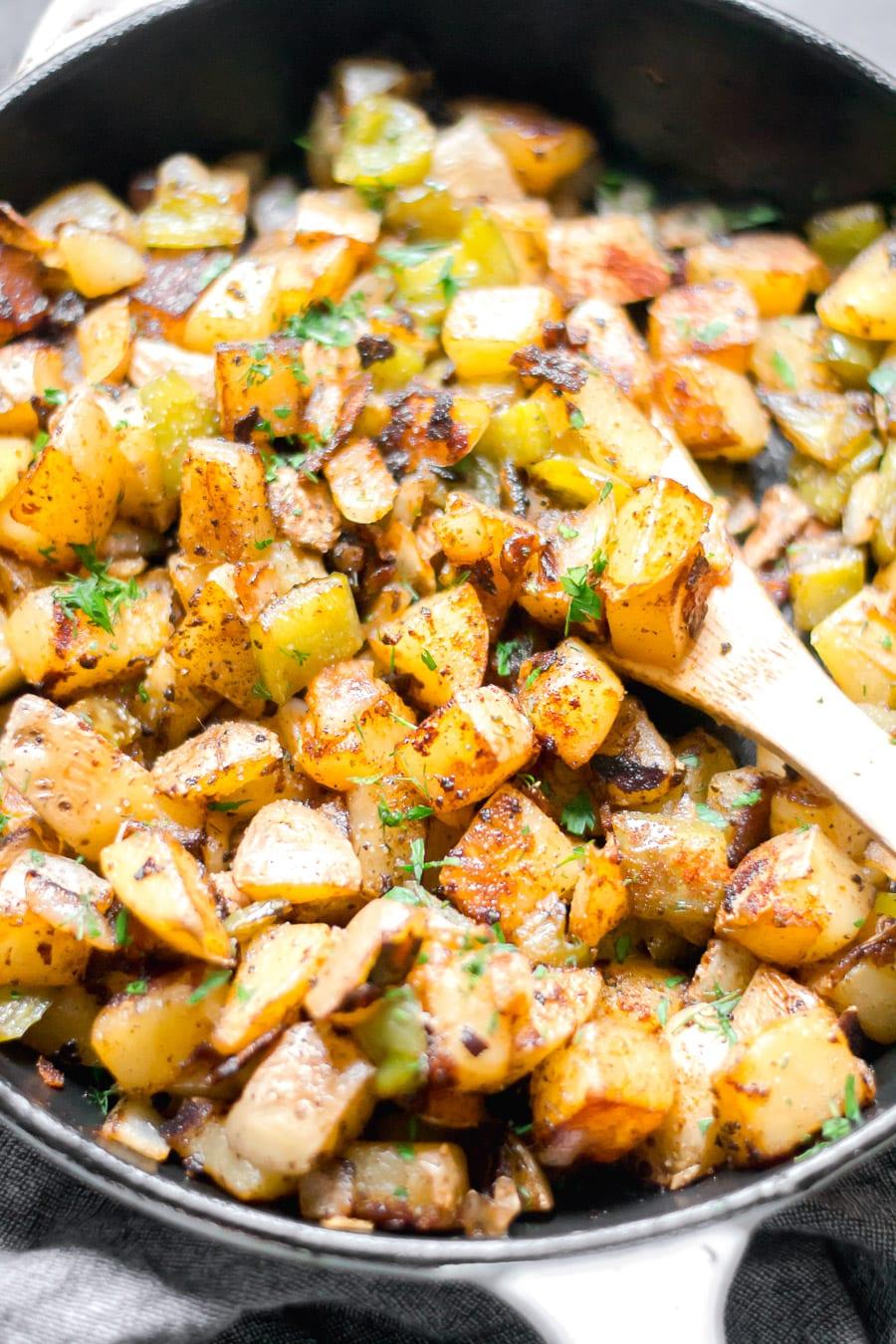 Easy Breakfast Potatoes | Sarcastic Cooking