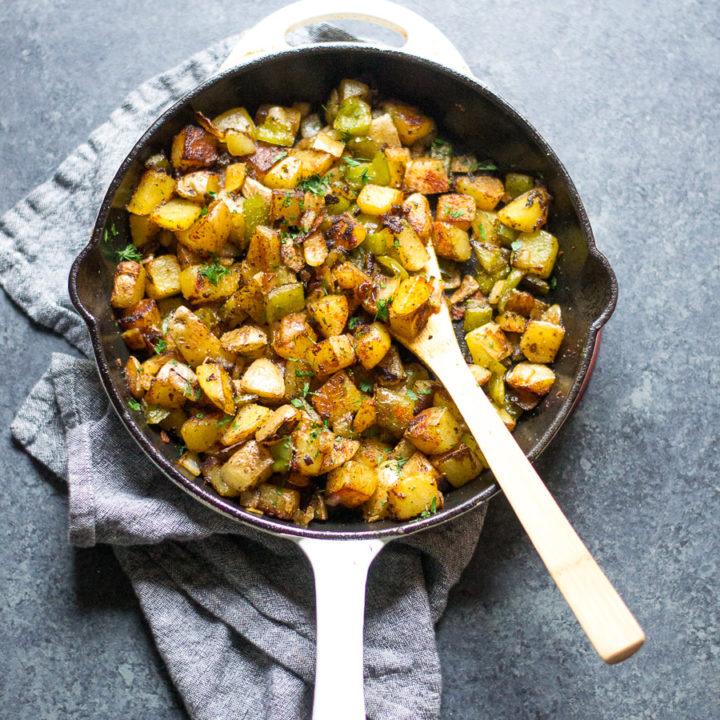 Classic Skillet Breakfast Potatoes