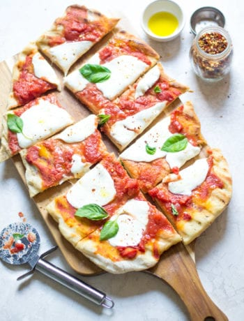 Grilled Margherita Pizza (on the gas grill) - Sarcastic Cooking