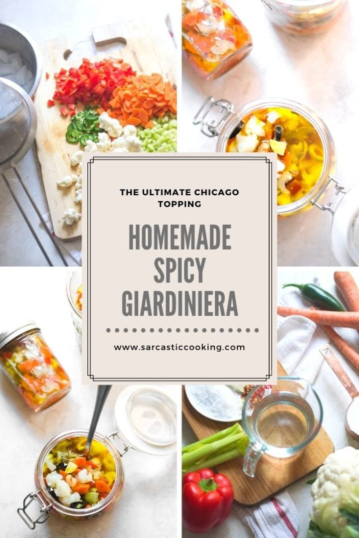 Homemade Giardiniera | Sarcastic Cooking