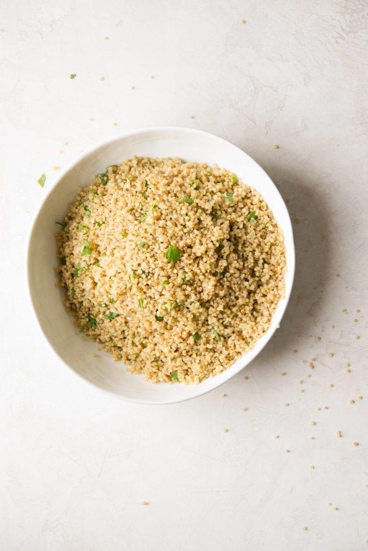Instant Pot Cilantro Lime Quinoa | Sarcastic Cooking