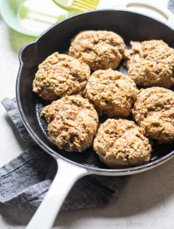 Honey Wheat Drop Biscuits | Sarcastic Cooking