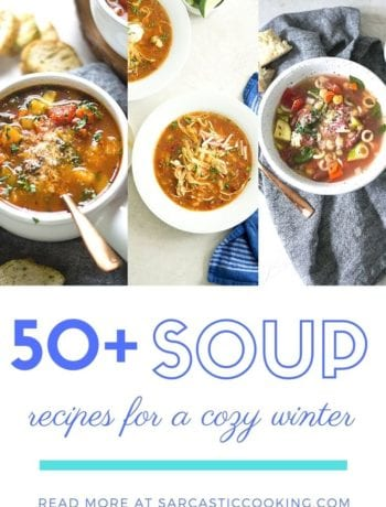 The Best Winter Soup Recipes - Sarcastic Cooking