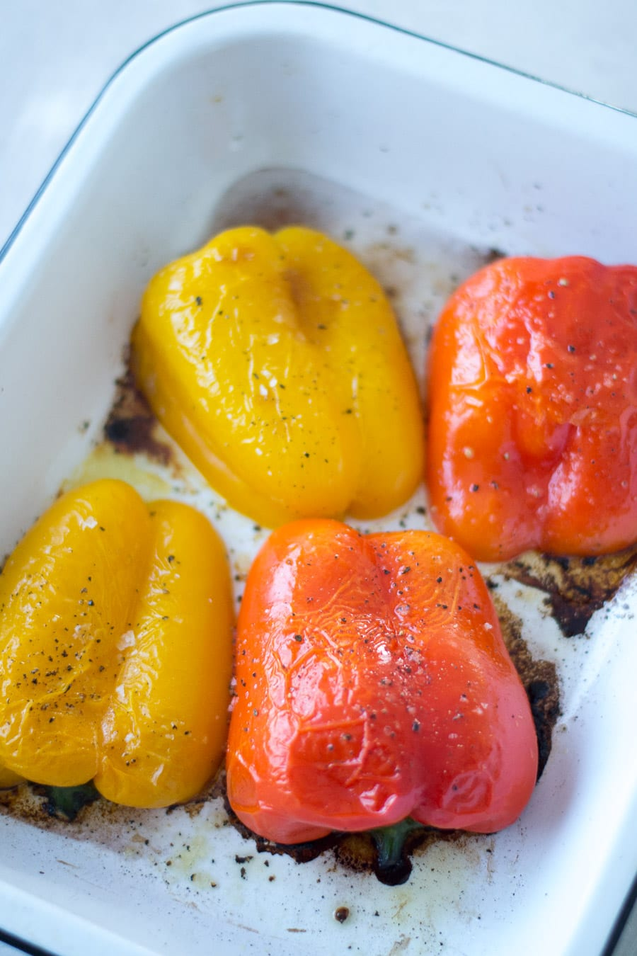Roast Peppers before stuffing! | Sarcastic Cooking