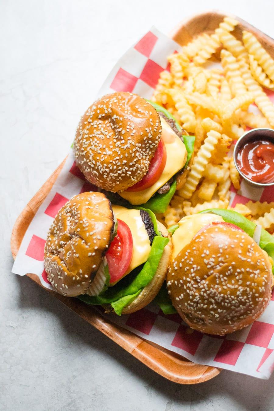 Cast Iron Skillet Smash Burgers | Sarcastic Cooking