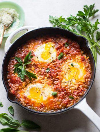 Fresh Tomato Eggs in Purgatory | Sarcastic Cooking