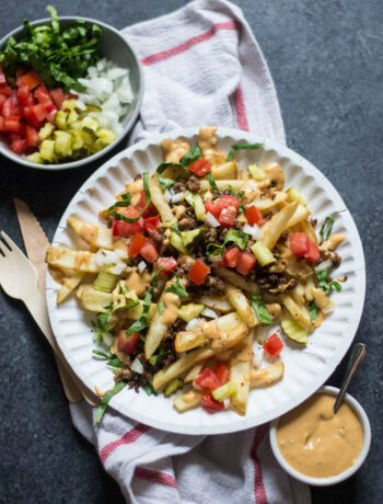 Loaded Everything Burger French Fries | Sarcastic Cooking