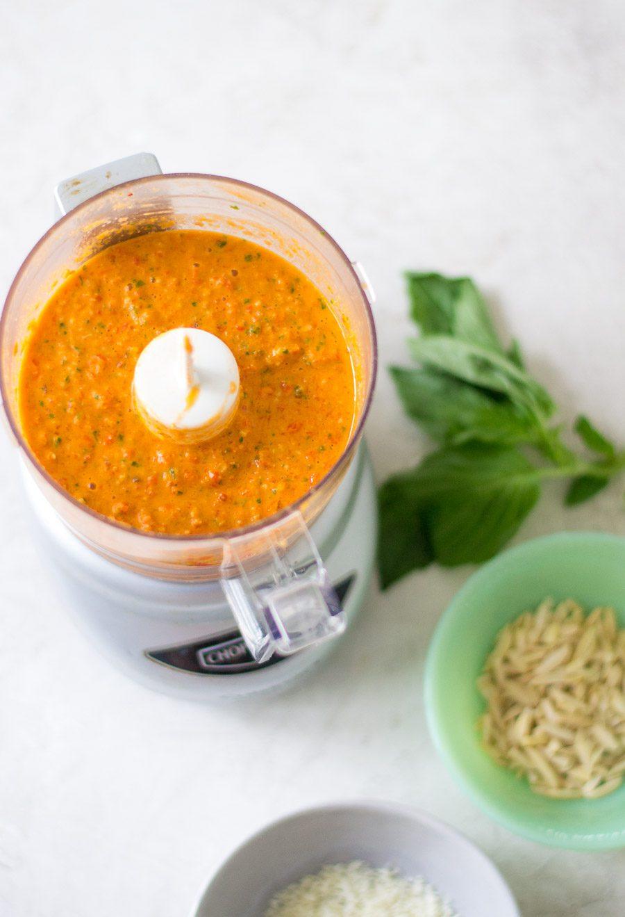 Pesto alla Trapanese - Sarcastic Cooking